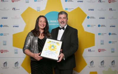 Symphonia gin is 'Highly Commended' at Titanic Belfast