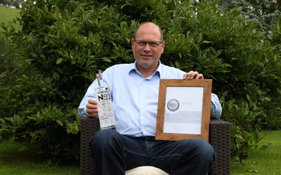 Symphonia No 1 Dry Gin earns silver in prestigious international competition